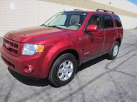 CHECK OUT THIS LIKE NEW SPACIOUS 4-dr 2008 FORD ESCAPE