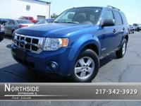 Options Included: N/AThis Blue 2008 Ford Escape XLT