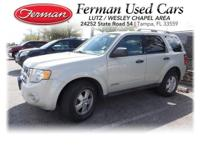 (813) 321-4487 ext.329 This 2008 Ford Escape XLT is