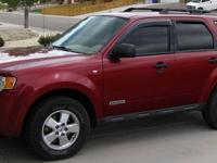 2008 Ford Escape XLT AWD - 60,000 miles - V6 3.0 Liter
