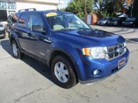 Options:  2008 Ford Escape 4Wd 4D Wagon Xlt V6|Blue|Air