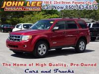 This 2008 Ford Escape XLT is red and ready...with a