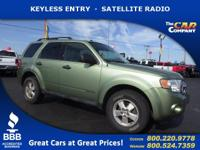 Used 2008 Ford Escape,  DESIRABLE FEATURES:   KEYLESS