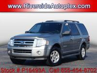 2008 Ford Expedition XLT in Vapor Silver Clearcoat