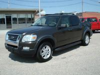 2008 Sport Trac 4x4 XLT. Local new car dealer trade in.