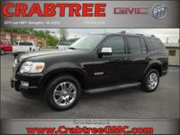 Options:  2008 Ford Explorer Limited|4X4 Limited 4Dr