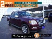 Options:  2008 Ford Explorer Sport Trac Limited|4X2