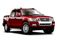 LEATHER and SUNROOF. Explorer Sport Trac Limited, 4WD,