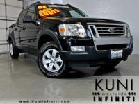 Explorer Sport Trac XLT, 4WD, Black, ABS brakes, Alloy
