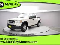 Our 2008 Ford Explorer Sport Trac XLT shown in White is