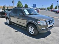 Clean CARFAX. 2008 Ford Explorer Sport Trac XLT Gray