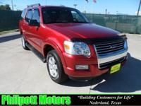 Options Included: N/A2008 Ford Explorer XLT, red with