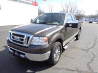 This 2008 Ford F-150 pickup truck is available in