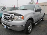 From work to weekends, this Silver 2008 Ford F-150 XLT