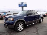 2008 Ford F-150 SuperCrew Cab FX4 4 Wheel Drive 5.4L