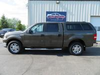 Take in our great looking 2008 Ford F150 4X4 Supercab