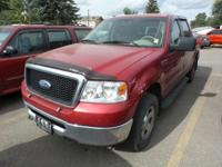 Options:  2008 Ford F-150 4Wd|Red/Tan|V8 5.4L