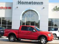 Options:  2008 Ford F-150 4Wd Supercrew 139 Fx4|4 Wheel