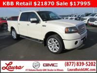 1-Owner New Vehicle Trade! Lariat 5.4 V8 Crew Cab 4x4.