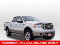 Clean Carfax. King Ranch Package (Accent Color H-Bar