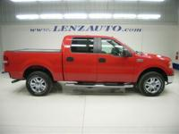 2008 FORD F-150 Four Wheel Drive, Front Tow Hooks,