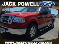 Exterior Color: bright red clearcoat, Body: 4x2 XLT 4dr