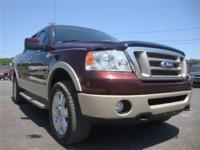 This 2008 Ford F-150 King Ranch Crew Cab 4WD is
