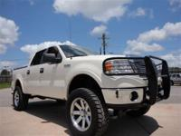 THIS 2008 FORD F-150 LARIAT JUST CAME IN. THIS 5.4L
