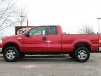 VERY NICE ONE OWNER 2008 FORD F150 SUPERCAB 4WD WITH A