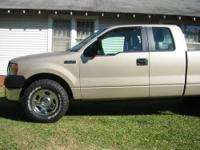 2008 Ford, F-150 XL, Extended Cab, 4X4 44,763 miles,
