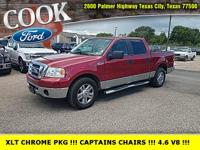 Redfire Clearcoat Metallic 2008 Ford F-150 XLT RWD
