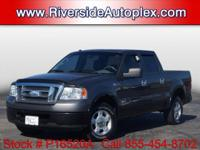 This F-150 come well equipped with popular features