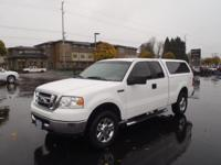 This WHITE 2008 Ford F-150 XLT might be just the super