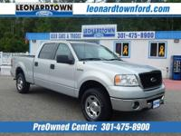 2008 F-150 XLT Supercrew 4 Wheel Drive Nicely Equipped