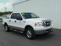 2008 FORD F-150 XLT!! 4WD, CREW CAB, 5.4L V8, ALLOY
