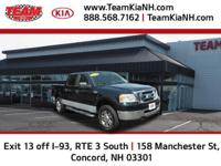 Ford F-150 XLT 2008 Black Clean CARFAX. New Price!
