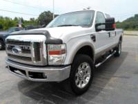 This 2008 Ford F-250 Lariet Super Duty has the 6.4L