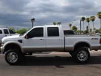 This 2008 Ford Super Duty F-250 SRW 4dr 4WD Crew Cab