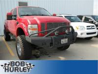 Ford F-250SD Red 4WDRecent Arrival! Clean CARFAX.