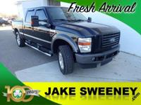 Our 2008 Ford Super Duty F-250 Lariat FX4 Crew Cab 4x4
