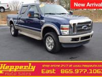 This 2008 Ford F-250SD King Ranch features a FREE 3/3