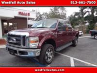 Beautiful 2008 Ford F250 King Ranch Edition! This truck