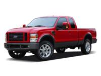 XLT Super Cab - 8ft Snow Plow - 4x4 - Power windows -