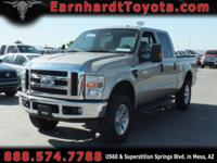 We are very happy to offer you this 2008 Ford F250 XLT