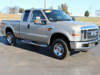 This 2008 Ford F-250SD XLT in Pueblo Gold Clearcoat