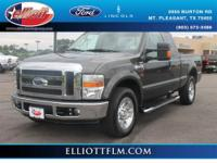 This great F-250 is ready for you with the following