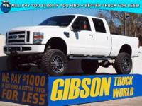 WWW.GIBSONTRUCKWORLD.COM 2008 Ford F250 XLT Leather