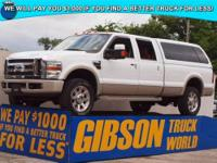 WWW.GIBSONTRUCKWORLD.COM 2008 Ford F350 King Ranch Crew