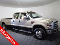 2008 Ford F-350 Lariat Crew Cab with a 6.4L V8 Turbo