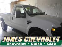 This 2008 Ford Super Duty F-350 SRW XL will sell fast